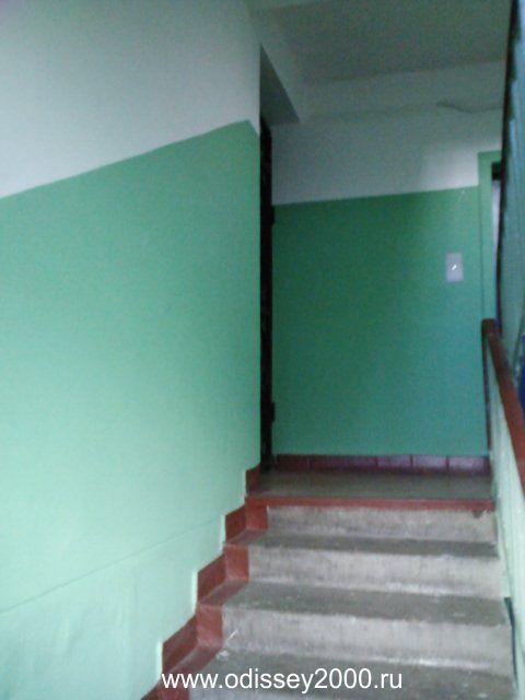 Покраска стен в многоэтажном доме, покраска монолитных домов, стены в подъездах, покраска стен водоэмульсионной краской, покраска лестничных проемов. Краска для подъездов.
